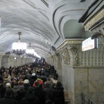 Metro - the fastest means of transportation in Moscow