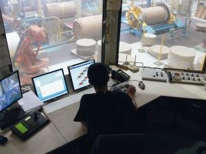 Control room at CVG