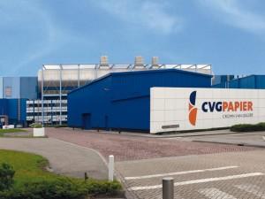 CVG paper mill in Velsen, the Netherlands