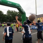 The wingman at the finishing line
