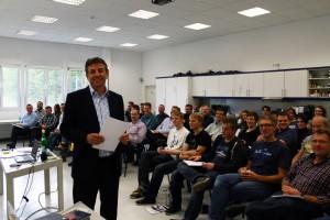 Motivational trainer Dirk Schmidt at G&D