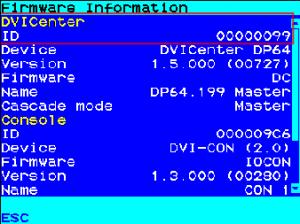 Device ID DVICenter