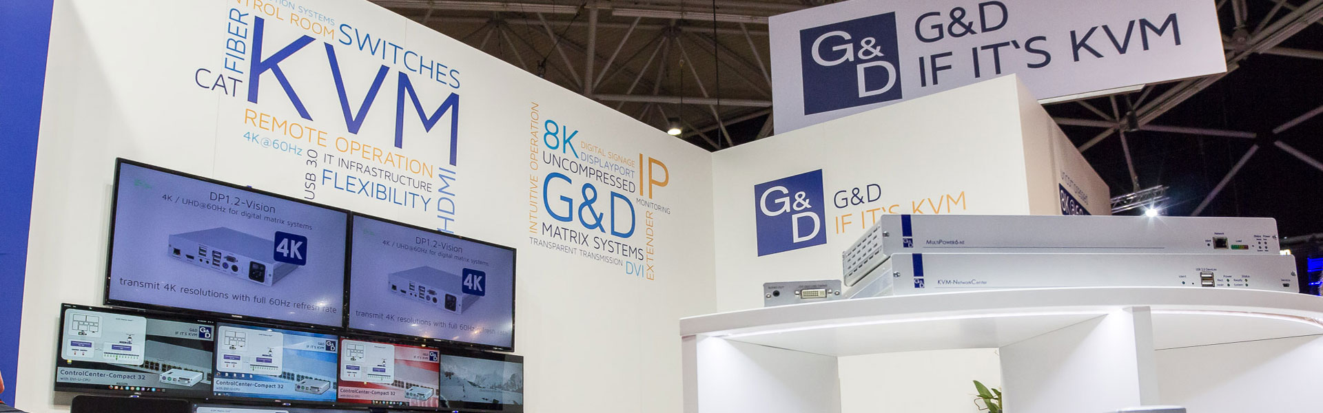 With KVM around the world – G&D's trade shows 2017