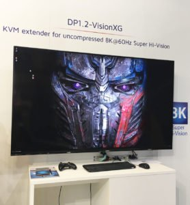 8K display from Sharp