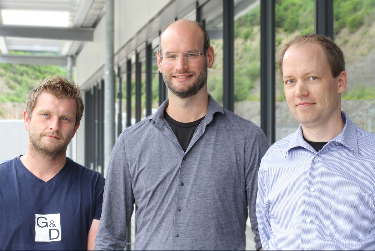 G&D Field Application Engineers Andreas, Christopher und Christian