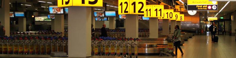 KVM im Einsatz: Amsterdam Airport Schiphol