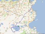 Die Route durch Nordafrika