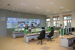 Die neue Verkehrsleitzentral in Frankfurt am Main