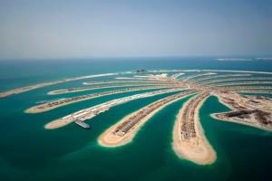 Die Jumeirah-Palme in Dubai