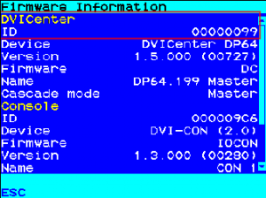Geräte-ID DVICenter