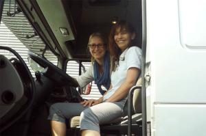 1. Tag der Logistik - Maria & Manuela