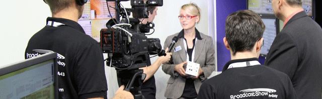 10 Minuten Live-Interview mit TV-Bay auf der IBC 2013