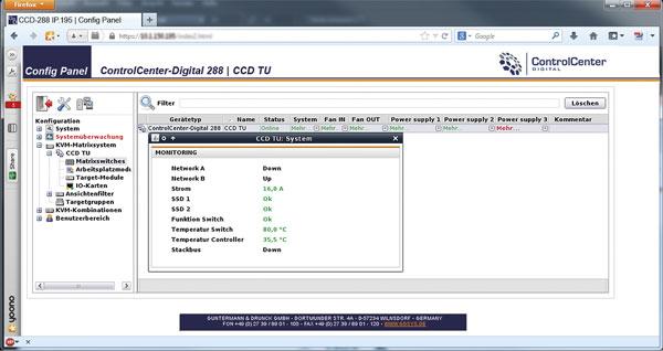 Monitoring ControlCenter-Digital
