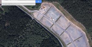 Noch etwas karg: das Gewerbegebiet Oberes Leimbachtal | Quelle: Screenshot Google Maps