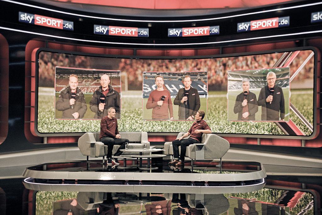 Studio für Sportübertragungen – Sky Deutschland