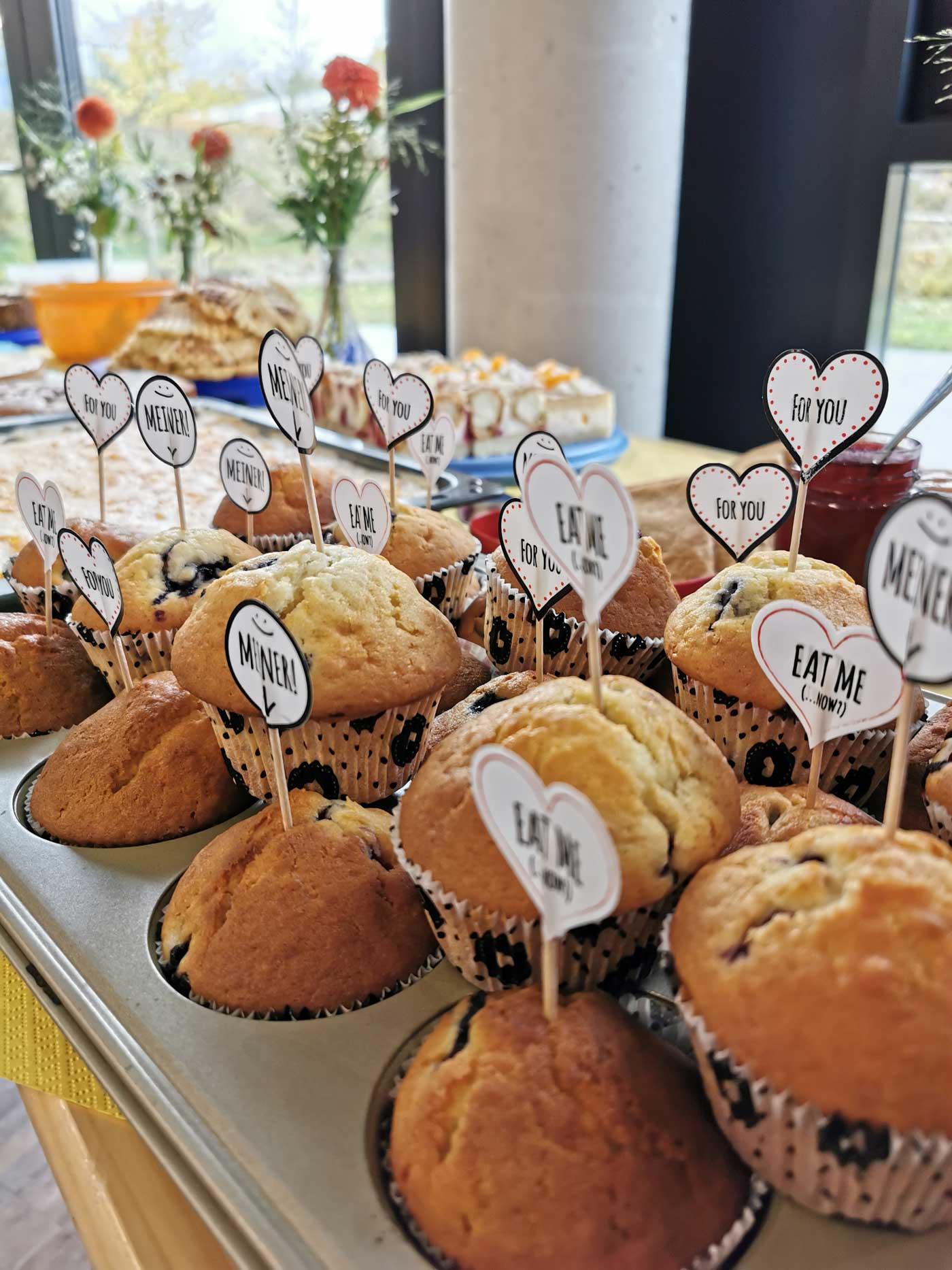 Muffins für den G&D Familientag