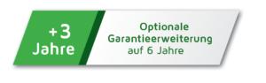 G&D Garantie: optionale Erweiterung auf sechs Jahre