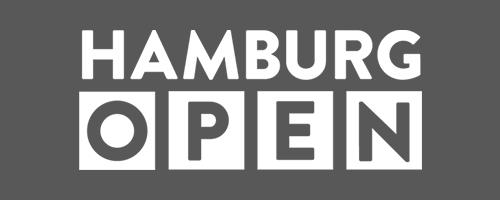Logo Hamburg Open in grau