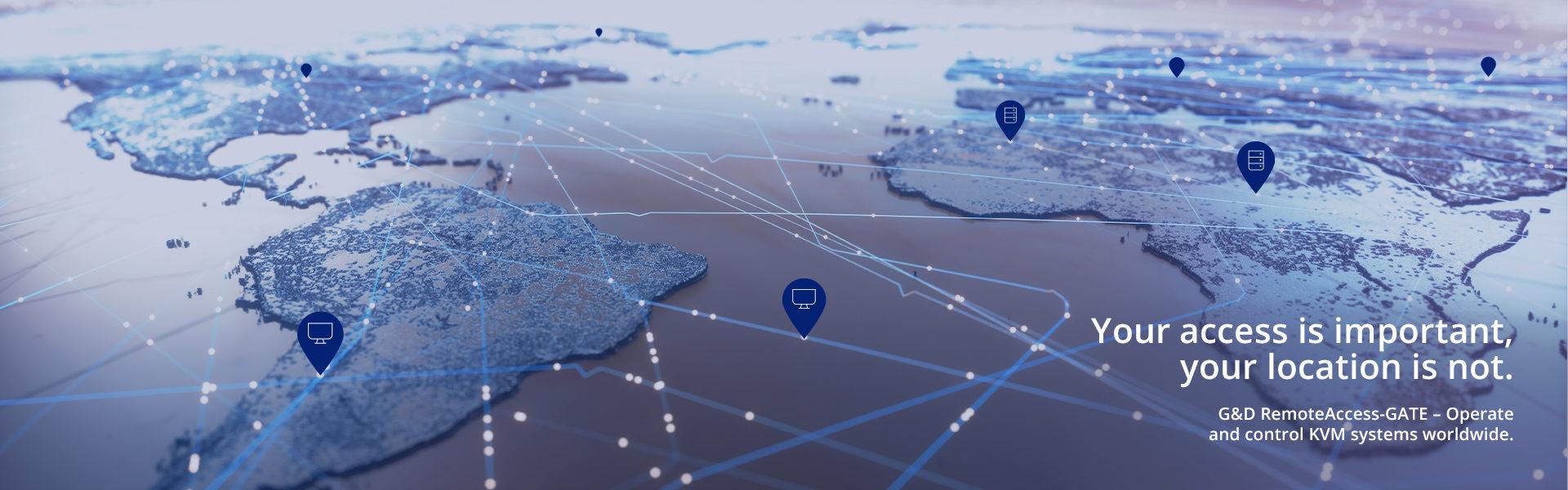 RemoteAccess-GATE: IP-Zugriff auf KVM-Systeme zu jeder Zeit und von überall